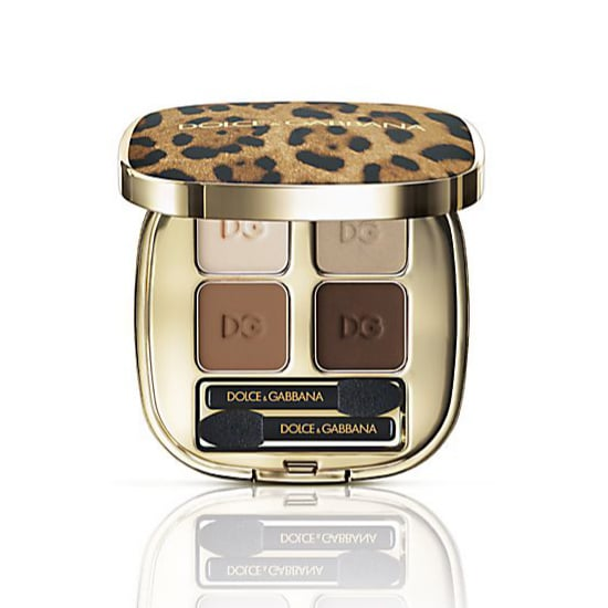 Dolce & Gabbana Animalier Eyeshadow Quad in Desert Review