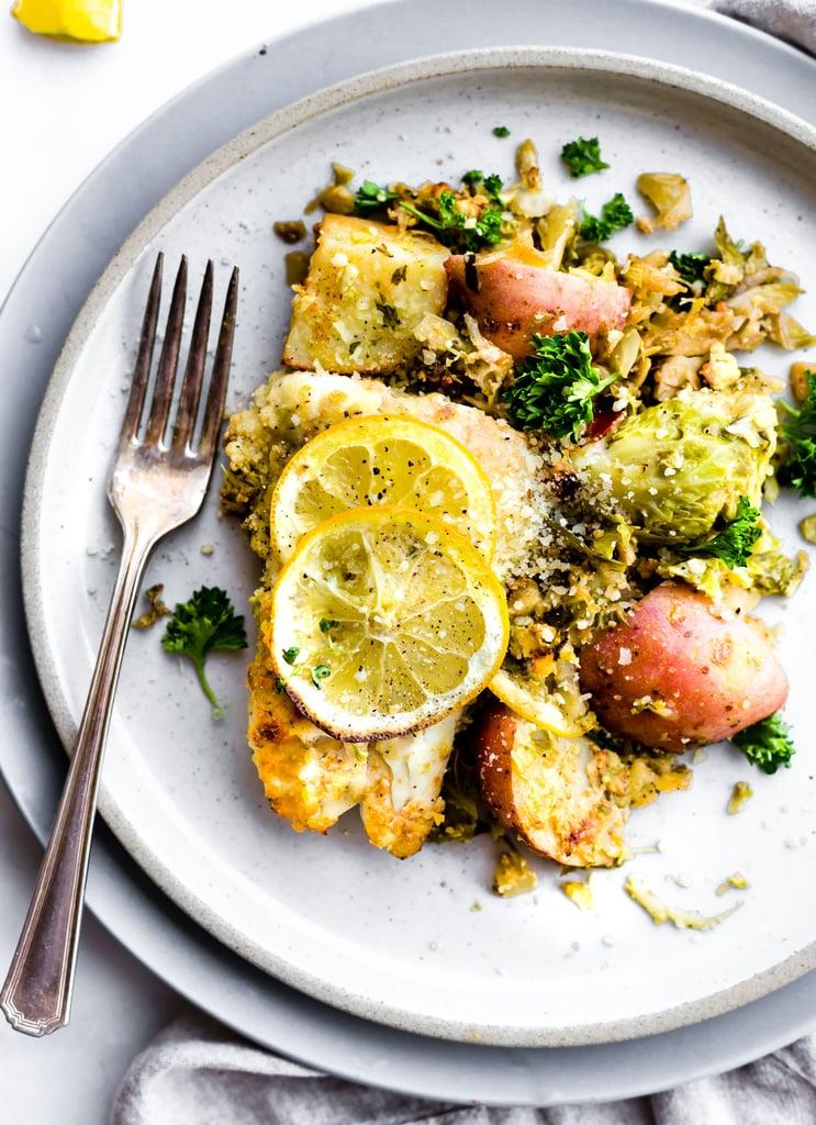 Honey Mustard Baked Fish