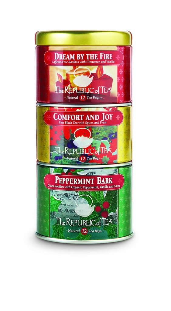 The Republic of Tea Holiday Stackable Tin