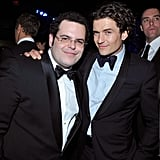 Orlando Bloom posed with Josh Gad.