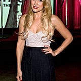 Lauren Conrad attended the Susan G. Komen foundation's gala in LA.