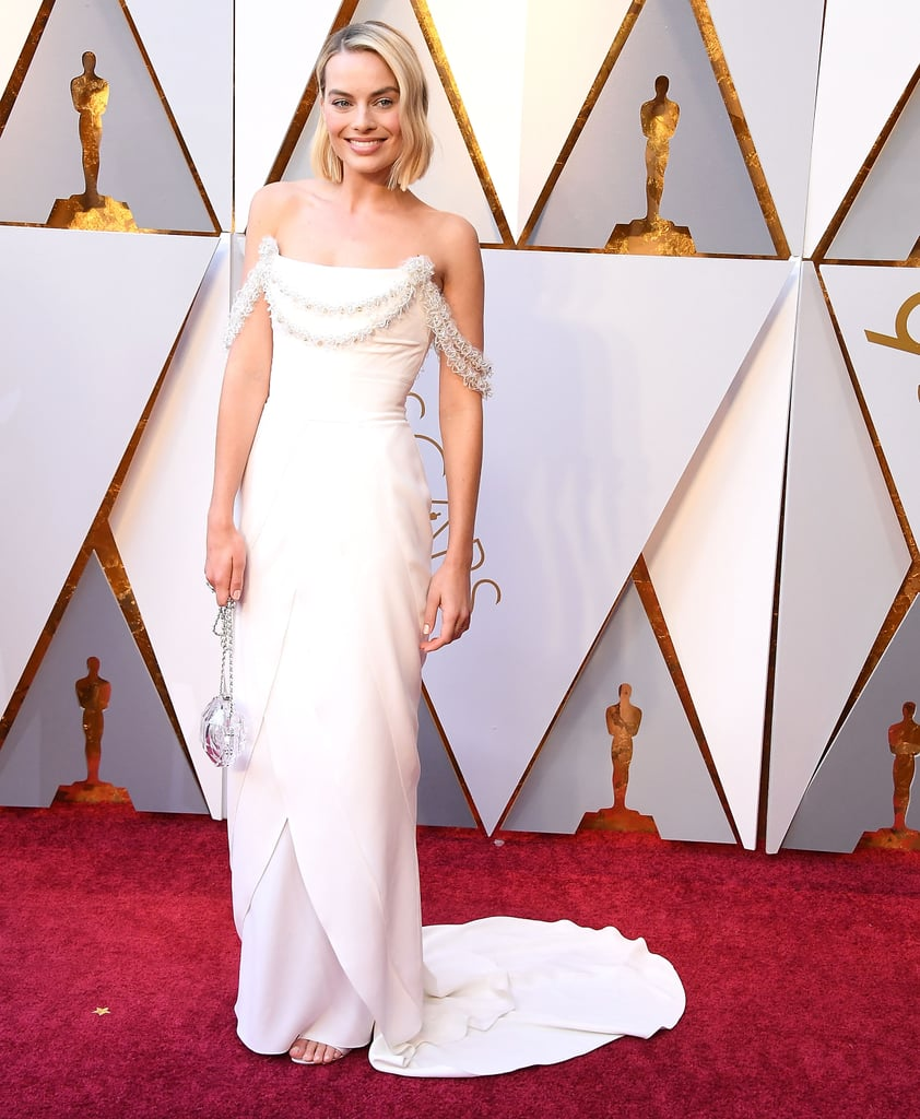 For the 2018 Oscars, Margot chose a lovely Chanel look, which took a whopping 680 hours to make!