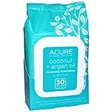 Acure Organics Coconut + Argan Oil Cleansing Towelettes ($7)