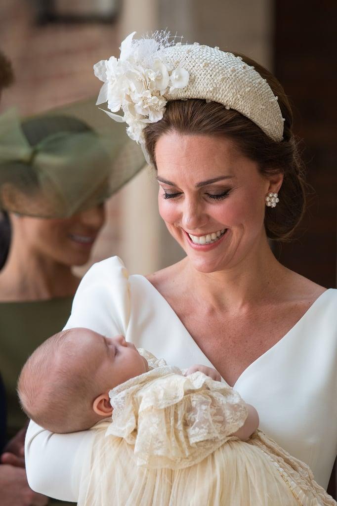 Kate Middleton at Prince Louis's Christening in 2018