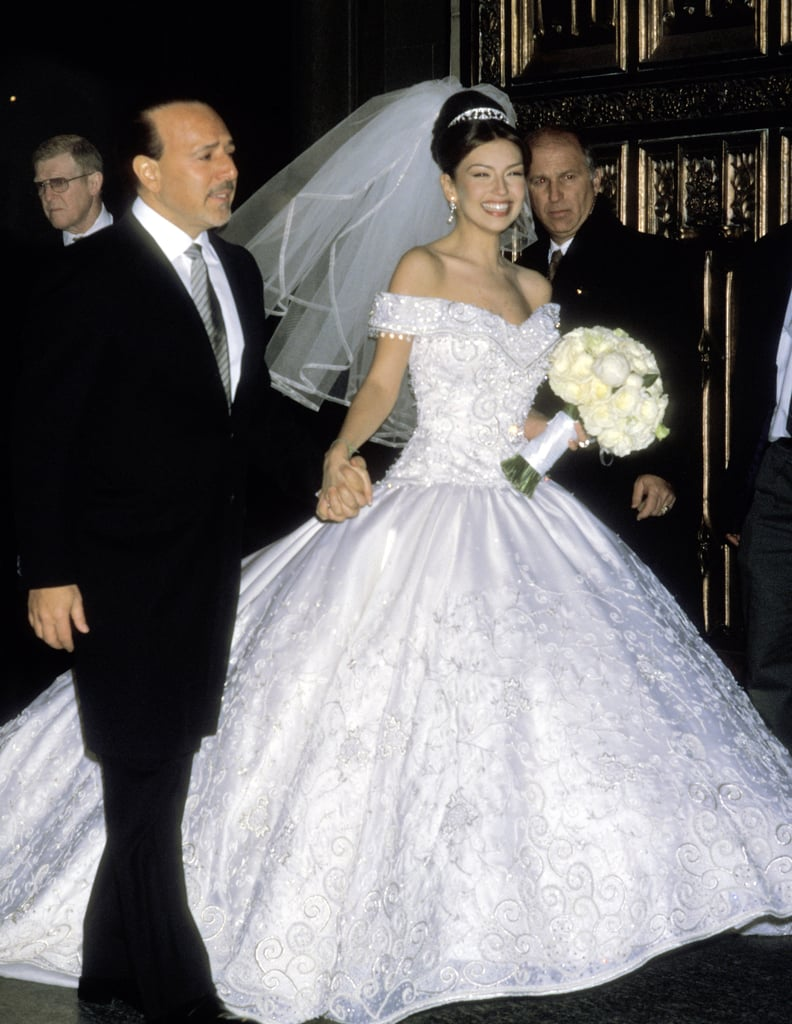 The Dress of Paulina Rubio on Her Wedding Day