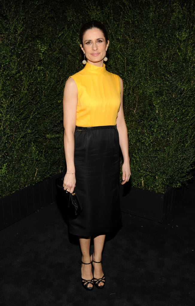 Livia Firth attended the event without husband Colin.