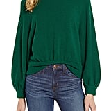 J.Crew Supersoft Gathered Crewneck Sweater