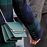 Meghan Markle Wearing the Strathberry East/West Leather Crossbody Bag