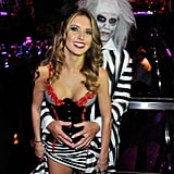 Audrina Patridge and Corey Bohan cozied up at a 2010 Halloween bash in Vegas.       Related:                                                                                                           We've Unwrapped the Calorie Counts of Your Favorite Halloween Candy