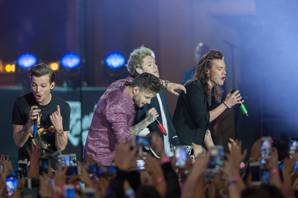 One Direction Performing in LA in 2015