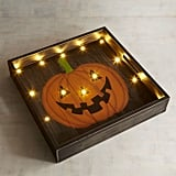 Pier 1 Imports LED Light-Up Pumpkin Tray