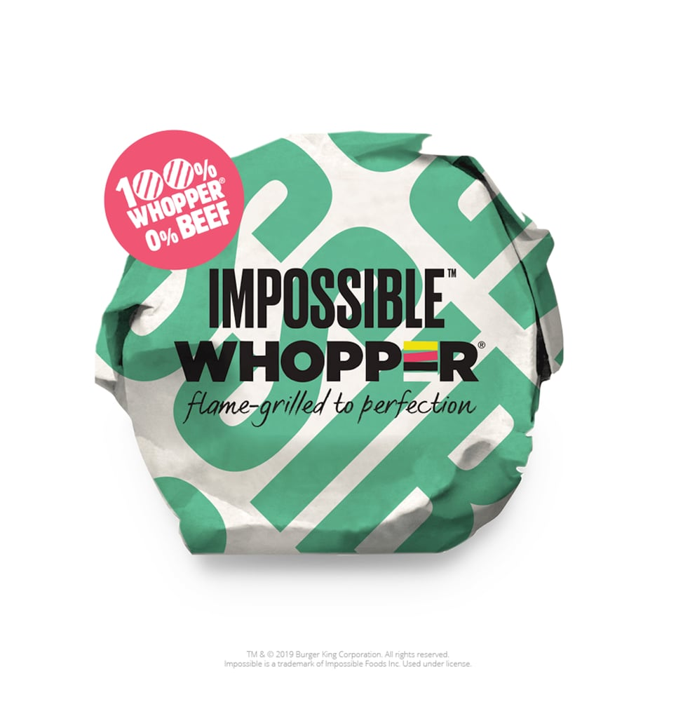 Here's a Peek at the Impossible Whopper Packaging