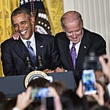 Biden and Obama Can't Help but Laugh When They're Together