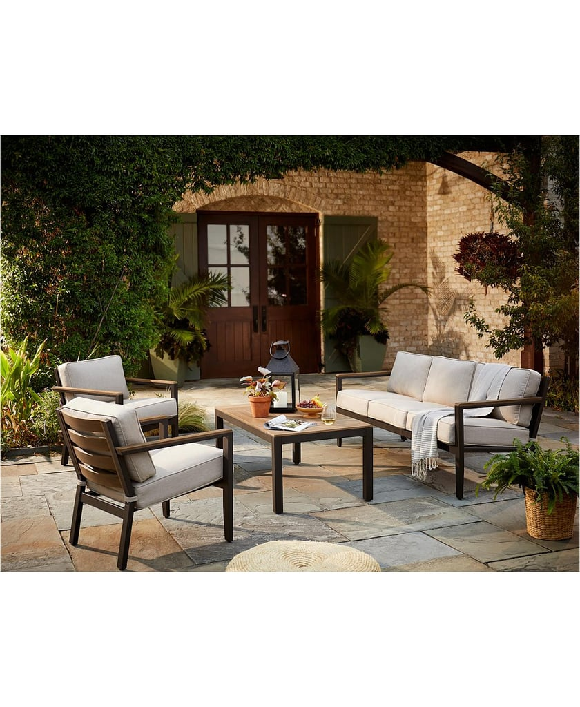 Furniture Stockholm Outdoor 4-Piece Seating Set