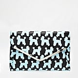 ASOS Poodle Print Envelope Clutch Bag ($33)