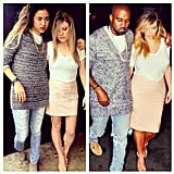 When Kim and Kanye Get All Lovey-Dovey