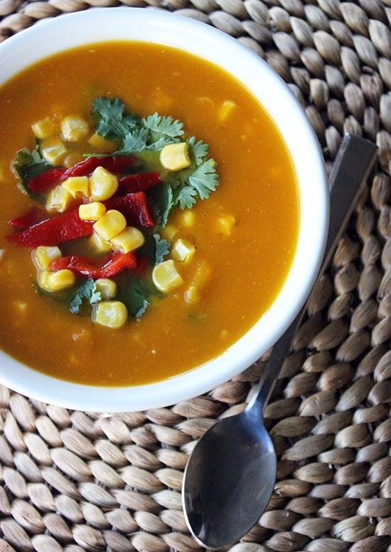 Santa Fe-Style Vegetable Soup