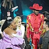 Sophie Turner, Lizzo, Lil Nas X, and Joe Jonas at the 2019 VMAs
