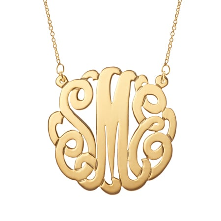 Eve's Addiction Monogram Necklace
