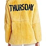 سترة Thursday Jacket من الفرو تصميم علامة Alberta Ferretti