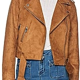 Levi's Ladies Faux Suede Motorcycle Jacket