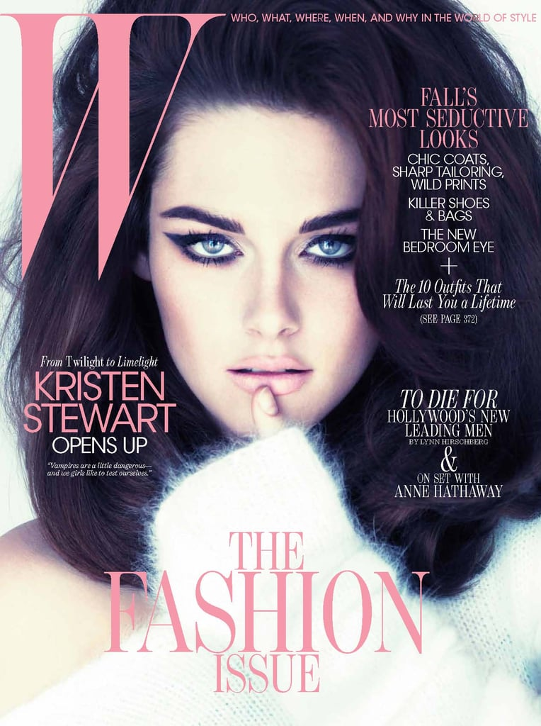 Kristen Stewart looked glamorous on the cover of W Magazine's September 2011 issue.