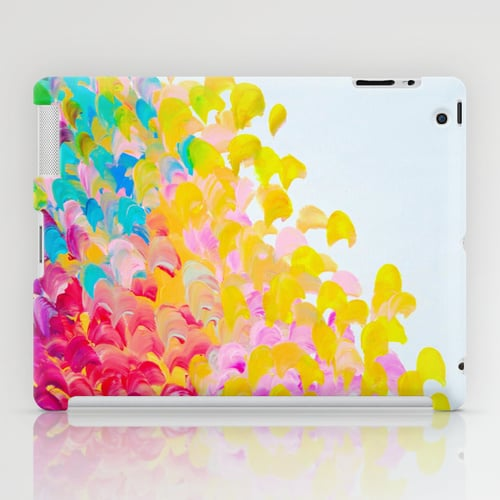Colorful Abstract Painting iPad Case ($60)