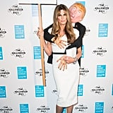 Jemima Khan's Melania Trump Groping Halloween Costume 2016
