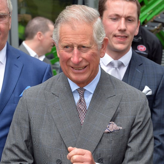 """Prince Charles Gushes About Charlotte, Says She's """"Easier"""" to Handle Than George"""