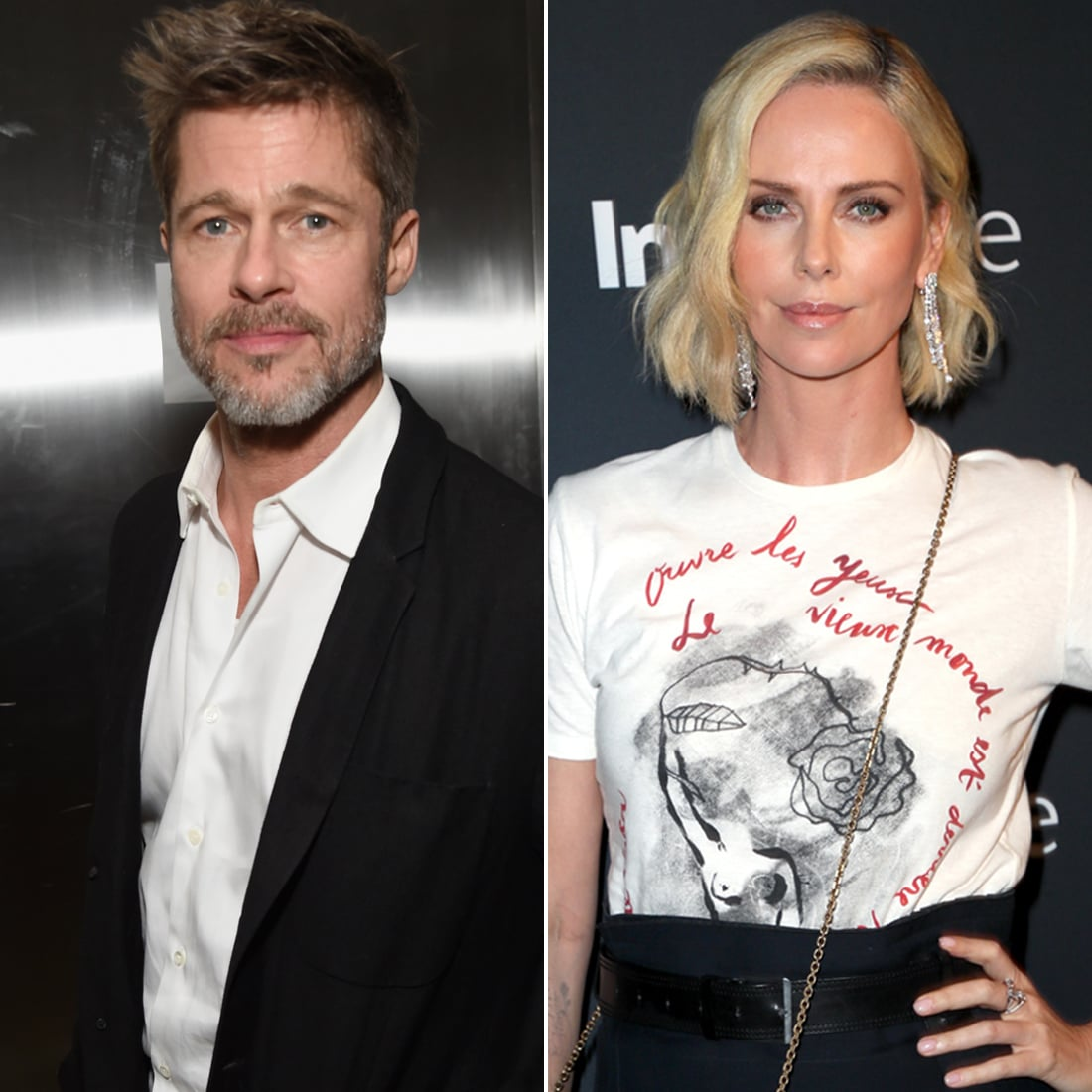Are Brad Pitt and Charlize Theron Dating? | POPSUGAR ...