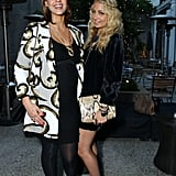 Nicole Richie was joined by her pal Jessica Alba at a West Hollywood Baby2Baby event in April 2011.