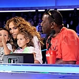 Jennifer Takes Max and Emme to Idol as Fergie and the Peas Rock the Stage
