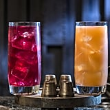 Left to right: the Phattro and Moof Juice (both nonalcoholic!) can be found at Docking Bay 7 Food and Cargo.