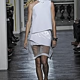 Gisele Bündchen on the Balenciaga Runway at Paris Fashion Week Spring/Summer 2011