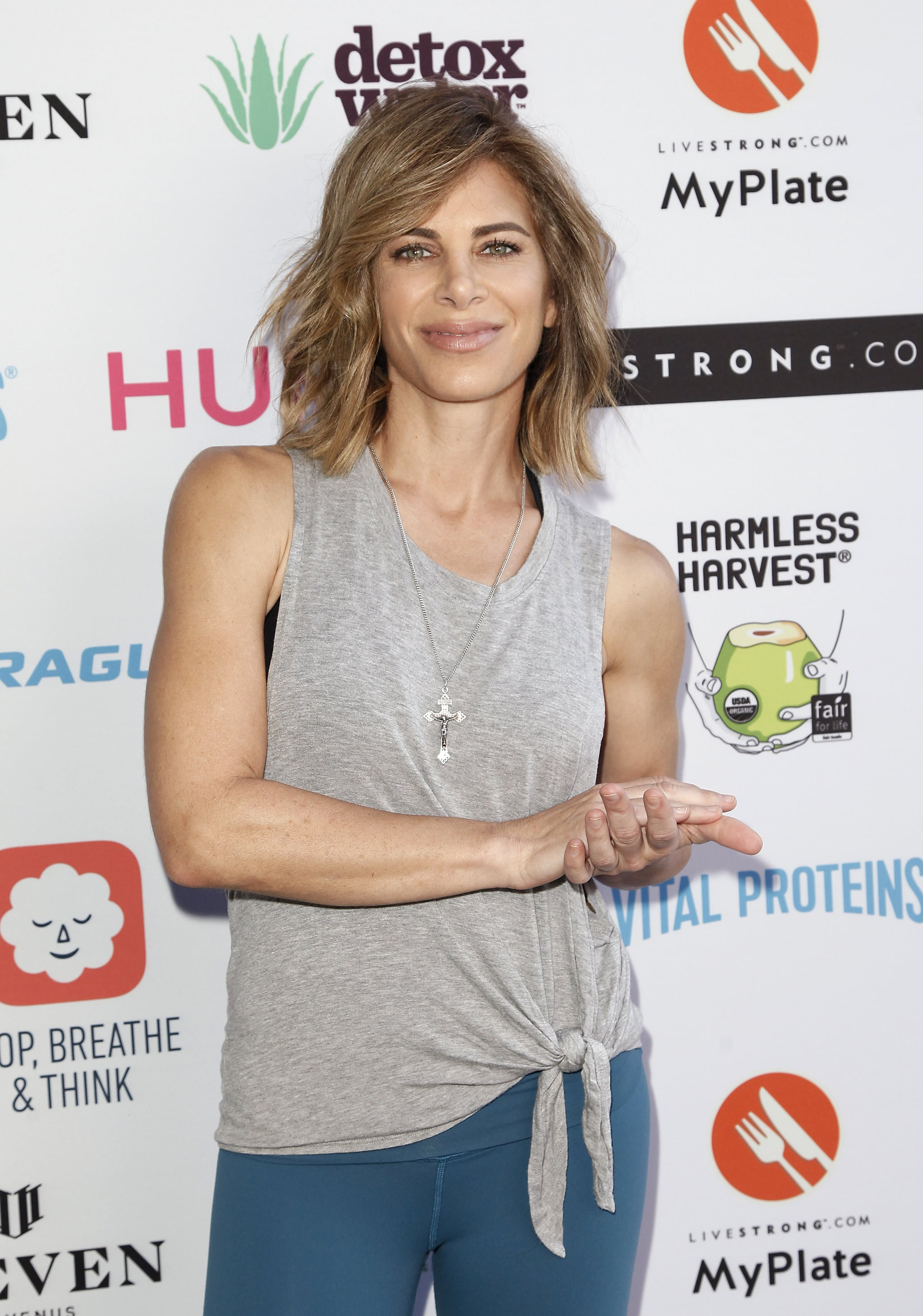 PASADENA, CA - AUGUST 04:  Jillian Michaels attends the Livestrong.com's 1st annual STRONGER Weekend Retreat at Rose Bowl on August 4, 2018 in Pasadena, California.  (Photo by Tibrina Hobson/Getty Images)
