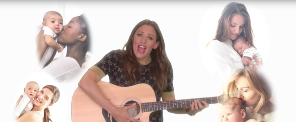 Jennifer Garner Music Video About Motherhood on Ellen