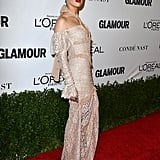 Amber Heard at Glamour's Women of the Year Awards 2016