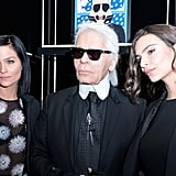 Oh, and Karl Lagerfeld. Need we say more?