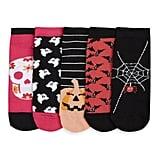 5-Pack Halloween Socks ($4)