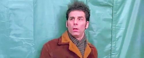 When Kramer Gets Beaned in the Head