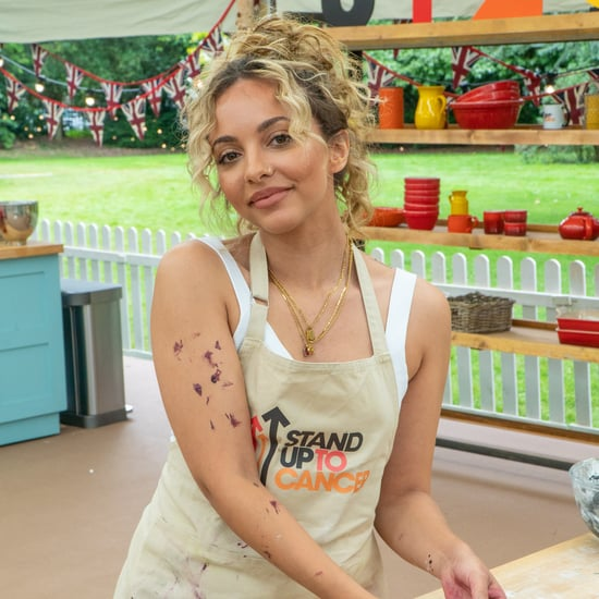 Jade Thirlwall's Little Mix Cake on Celebrity Bake Off
