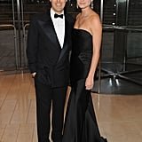 David Lauren and Lauren Bush at Lincoln Center.