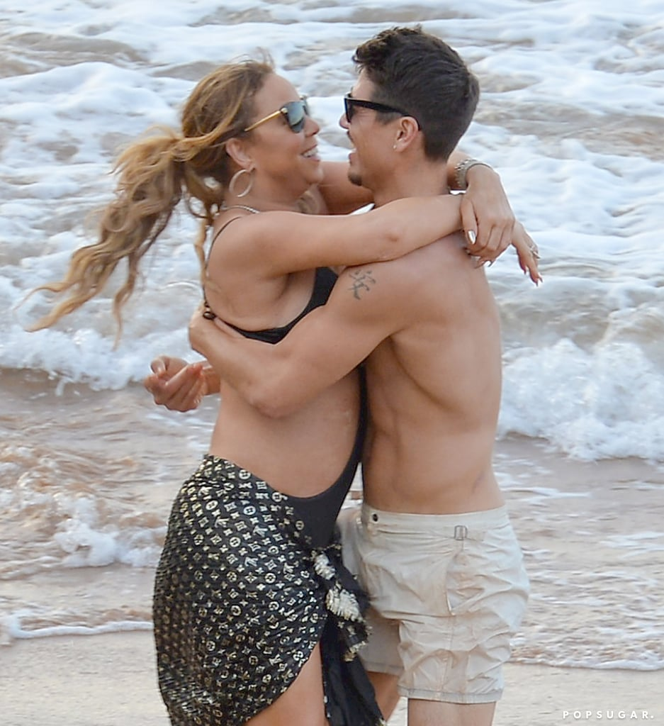 Mariah-Carey-Kissing-Bryan-Tanaka-Hawaii