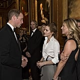 Emma's already in with the royal family.
