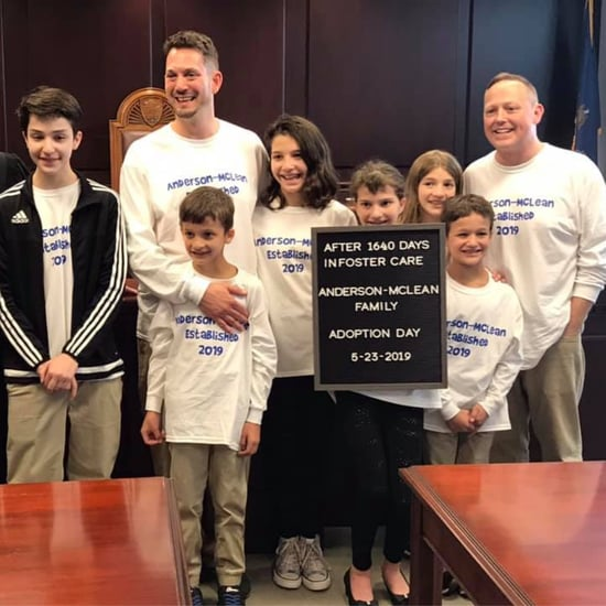 Dads Adopt 6 Siblings in Foster Care