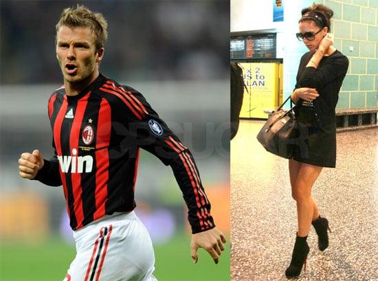 Beckhams in Milan