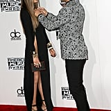 Chrissy Teigen and John Legend at the 2016 American Music Awards
