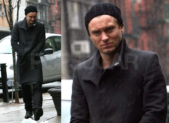 Photos of Jude Law in New York Rain Watch Repo Men Red Band Directors Cut Trailer