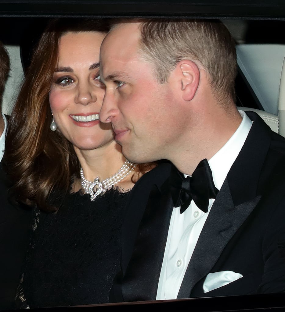 Duchess of Cambridge at Queen's 70th Anniversary Dinner