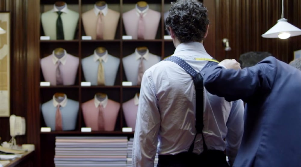 Bespoke Turnbull and Asser Shirt Experience (Pricing Varies) | The ...